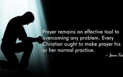 Prayer Is An Effective Tool Overcome Any Problem
