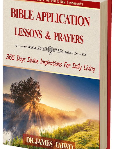 Bible Application Lessons and Prayers – 365 Devotionals (Book)