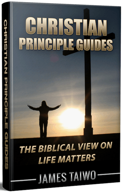 christian principle guides