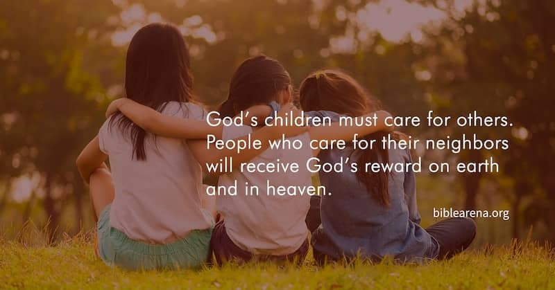 God's children must care for others #friendship #love #text #happy #morning