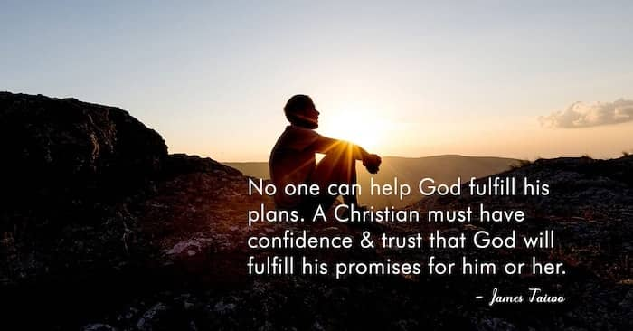 You can't help God fulfill plans #christianity #confidence #trust