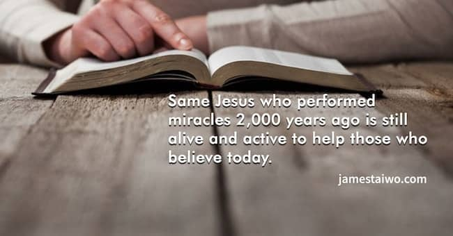 Jesus performed #miracles #today #help #believe