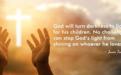 God turns darkness to light for his children #lightplay #shining #instalove