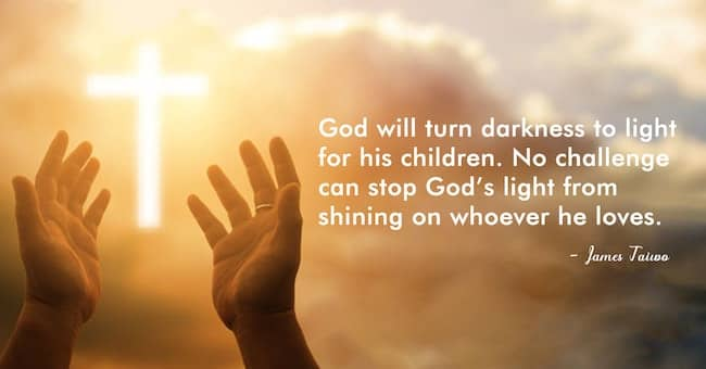 God turns darkness to light for his children #lightplay #shining #instalove